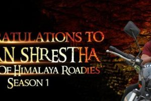 Saman Shrestha, the winner of first ever himalaya roadies
