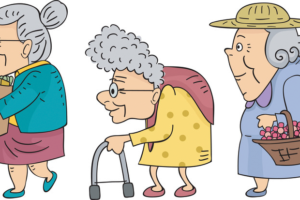 The problem with elderly people: