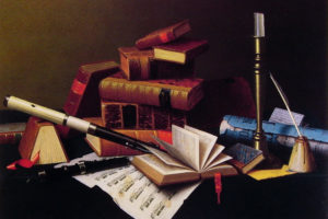 Three Jewels of life: literature, art and music