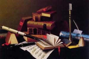 Three Jewels of life: literature, art and music
