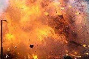 Bomb explosion in Okhaldhunga