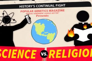 Torn between science and religion:creates some confusion at times
