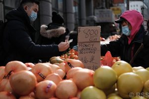 US NEW YORK CITY'S CHINATOWN PREPARES FOR LUNAR NEW YEAR