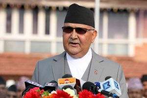 Thai Ambassador to Nepal Vorasaph Calls on PM Oli